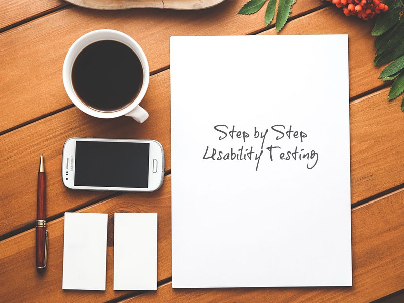 Step by step how to do a Usability Testing