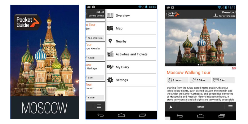 Moscow Pocket Guide